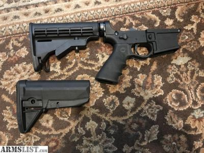For Sale: AR-15 Complete Lower Half, Multi Caliber Billet Lower Receiver...