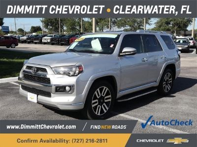 2014 Toyota 4Runner Limited (Classic Silver Metallic)