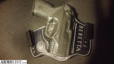 For Sale: Beretta PX4 Storm Ernest Langdon Compact Carry 9mm w/ gorgeous custom holster