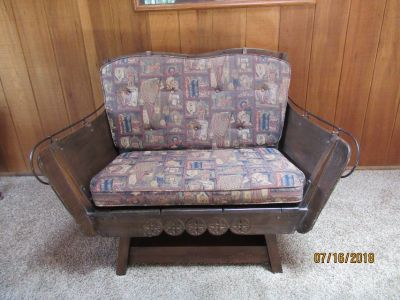 Antique Sleigh seat
