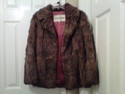 $30, Womens sz small rabbit fur coat