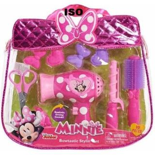 ISO This Minnie Mouse set with the functioning hair dryer
