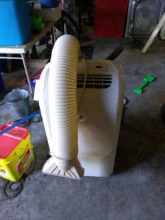 Free window air conditioner it leaks a little bit but if you're handy and might be able to figure out how to fix it