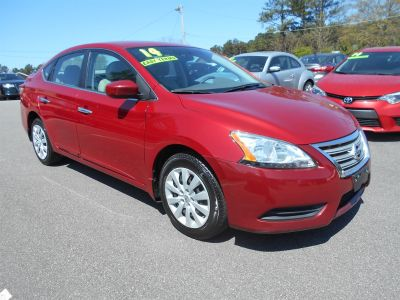2014 Nissan Sentra S (Red)