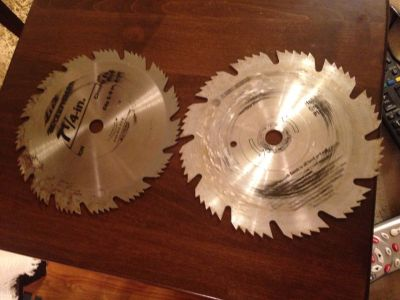 Used Saw Blades