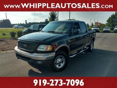 2002 Ford F-150 King Ranch (Black)