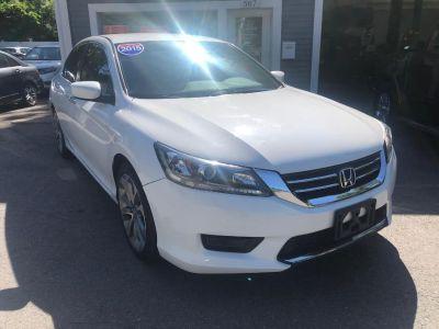 2015 Honda ACCORD SEDAN 4dr I4 CVT Sport (White)