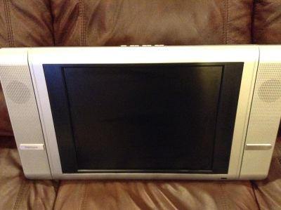 """LCD Thin 19"""" TV with Remote-EUC-Used Very Little In Spare Bedroom"""