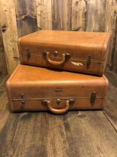 Old suitcases