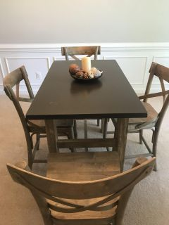 World Market table and chairs