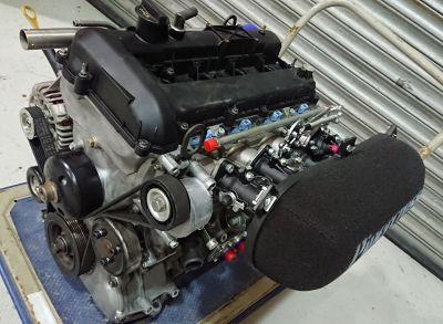 Alan Sherwood Built 2.3 Ford Duratec engine