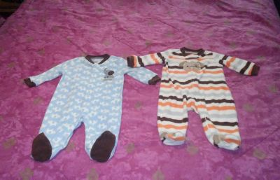 (2) Carter's brand size 3/6 months BUNDLE DISCOUNT if PURCHASE $25-$4 my profile my meeting information