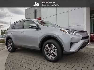 2018 Toyota RAV4 Hybrid LE Plus (Silver Sky Metallic)