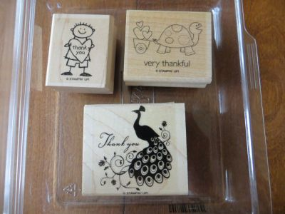 Stampin up Very Thankful stamp set