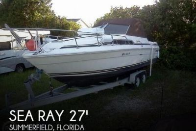 1986 Sea Ray 270 Sundancer