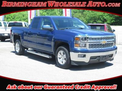 2015 Chevrolet Silverado 1500 LT (Deep Ocean Blue Metallic)