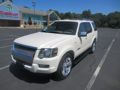 2008 Ford Explorer Limited (White Suede Metallic)