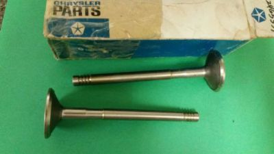 Find Chrysler Dodge Plymouth V8 1964-78 Engine Exhaust Valve - Set of 2 motorcycle in Phoenix, Arizona, United States, for US $12.50