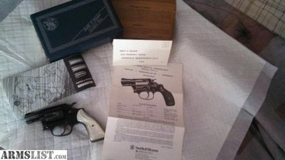 For Sale/Trade: 1972 Smith & Wesson model 37 Airweight