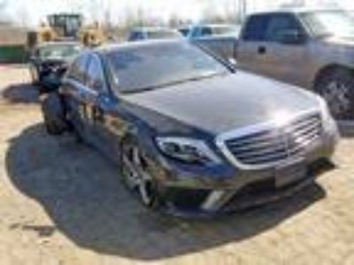 Salvage 2015 MERCEDES-BENZ S 63 AMG for Sale