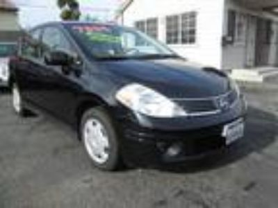 2008 Nissan Versa 1 8 S Hatchback Black, Gas Saver, 6 Speed