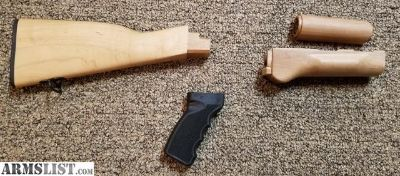 For Sale/Trade: New Blonde Wood AK47 Furniture