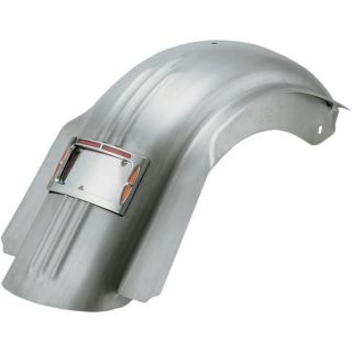 Find SKIRTED RAW REAR RIBBED FENDER W/LED TURN & BRAKE LIGHTS HARLEY TOURING 09-13 motorcycle in Gambrills, Maryland, US, for US $625.95