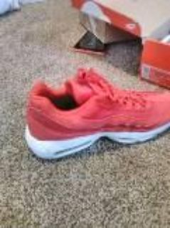 Air max 95 Gym red and white Size 11