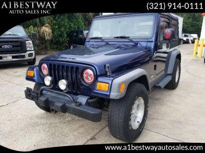 2005 Jeep Wrangler SE (Patriot Blue Pearl)