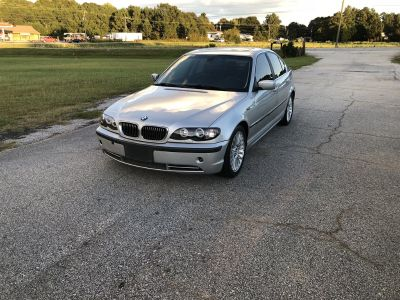 2002 BMW 3-Series 330i (Silver Or Aluminum)