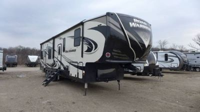 New 2018 Heartland Road Warrior RW411 Toy Hauler Fifth Wheel