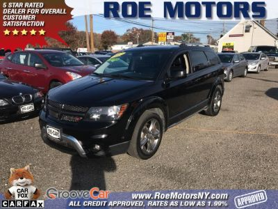 2017 Dodge Journey Crossroad Plus AWD (Pitch Black Clearcoat)