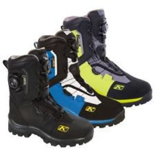 Purchase Klim Men's Insulated Adrenaline GTX BOA Gore-Tex Boots - Black Blue Green motorcycle in Sauk Centre, Minnesota, United States, for US $349.99