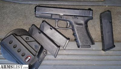 For Sale/Trade: Glock 37 gen 3, 45 Gap caliber pistol with night sights, 4 magazines and 265 rounds of ammo.