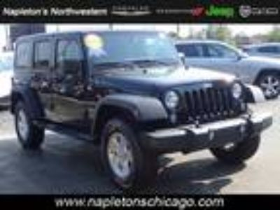 2018 Jeep Wrangler Unlimited Black, new