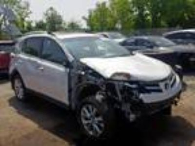 Salvage 2014 TOYOTA RAV4 LIMITED for Sale