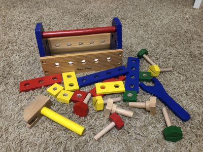 Melissa and Doug wooden tool set
