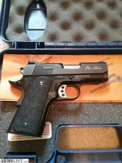 For Sale/Trade: SW1911 Pro Series 3in