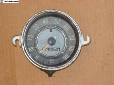 9.1963 Beetle speedometer