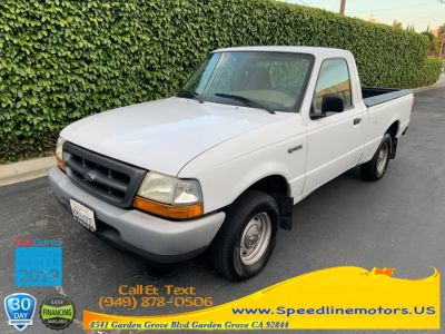 1999 Ford Ranger XLT (Oxford White)