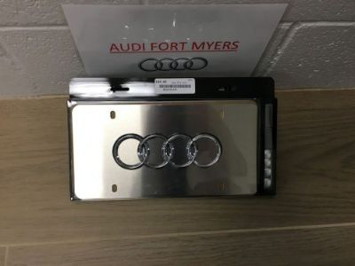 Buy AUDI FRONT LICENSE PLATE OEM Brand New ZAW-355-023 motorcycle in Fort Myers, Florida, United States, for US $44.40