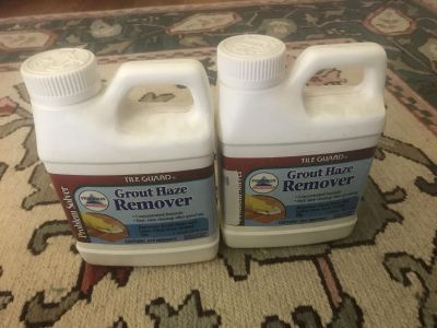 2 new grout haze remover