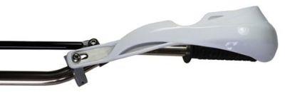 Buy White Deluxe Bikeit Reinforced Motorcycle MX Bike Brush Motocross Hand guards motorcycle in Ashton, Illinois, US, for US $44.99