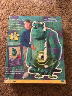 Huge Monsters Inc Puzzle.