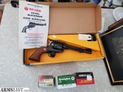 For Sale: Ruger Blackhawk .357 / 9MM