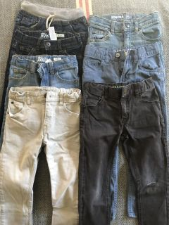 lot of size 5 toddler jeans