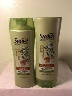Suave almonds and Shea butter moisturizing shampoo and conditioner set