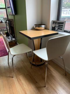 Modern Bistro Table