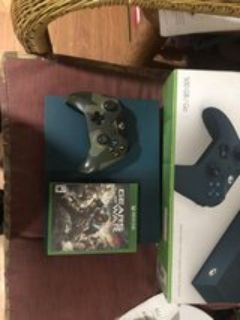 Xbox one S Gears of war limited edition