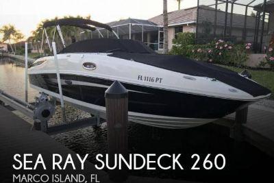 2014 Sea Ray Sundeck 260